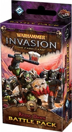 Warhammer Invasion LCG: The Bloodquest Cycle - Rising Dawn Battle Pack Box [6 packs]