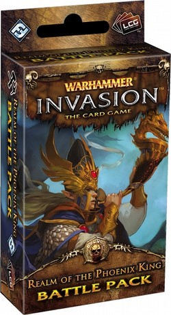 Warhammer Invasion LCG: The Capital Cycle - Realm of the Phoenix King Battle Pack Box [6 packs]