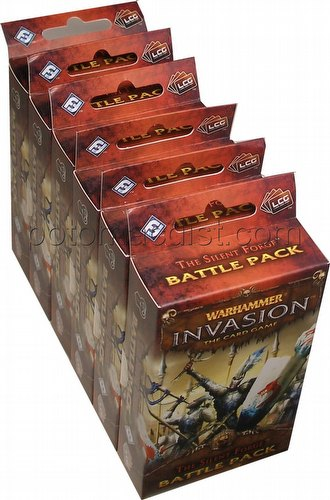 Warhammer Invasion LCG: The Enemy Cycle - The Silent Forge Battle Pack Box [6 packs]