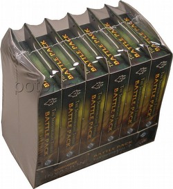 Warhammer Invasion LCG: The Corruption Cycle - The Skavenblight Threat Battle Pack Box [6 packs]