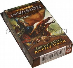 Warhammer Invasion LCG: The Corruption Cycle - Tooth and Claw Battle Pack