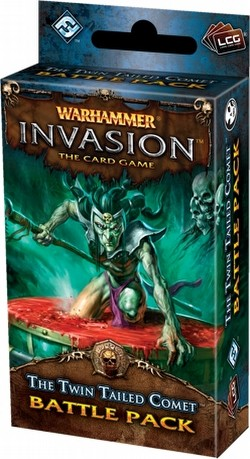 Warhammer Invasion LCG: The Morrslieb Cycle - The Twin Tailed Comet Battle Pack Box [6 packs]