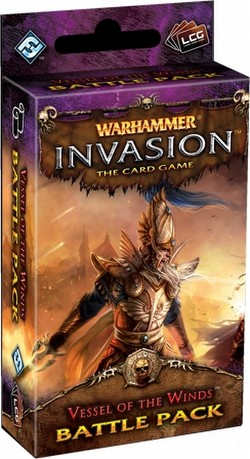Warhammer Invasion LCG: The Bloodquest Cycle - Vessel of the Winds Battle Pack Box [6 packs]