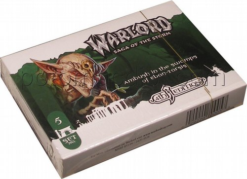 Warlord CCG: 4th Edition Base Set -  Ambush in the Swamps of Eban-Tarsis Adventure Path Set (#5)