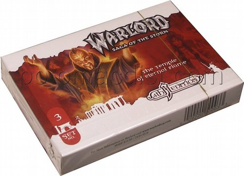 Warlord CCG: 4th Edition Base Set - The Temple of Eternal Flame Adventure Path Set (#3)