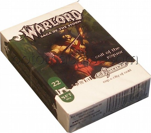 Warlord CCG: 4th Edition Exp. #4 City of Gold - Call of the Jaguar Adventure Path Set (#22)
