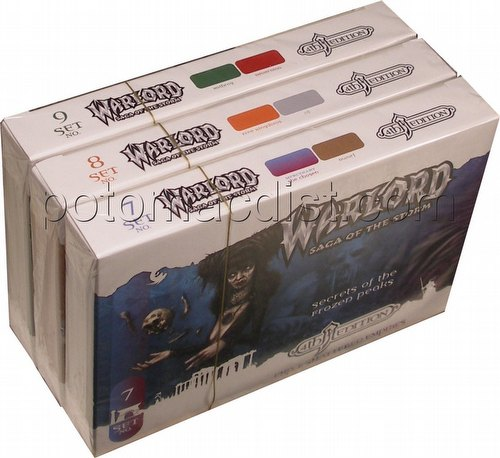 Warlord CCG: 4th Edition Complete Shattered Empires Set (3 Adventure Path Sets/#7-9)