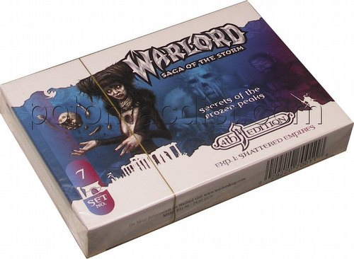 Warlord CCG: 4th Edition Exp. 1 Shattered Empires - Secrets of the Frozen Peaks Advent. Path Set(#7)