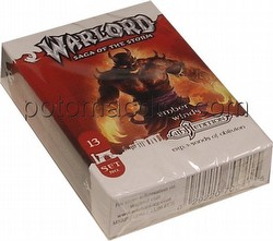 Warlord CCG: 4th Edition Exp. #3 Sands of Oblivion - Ember Winds Adventure Path Set (#13)