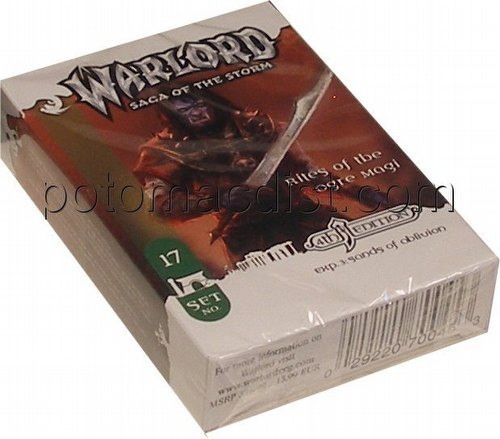 Warlord CCG: 4th Edition Exp. #3 Sands of Oblivion - Rites of the Ogre Magi Adventure Path Set (#17)