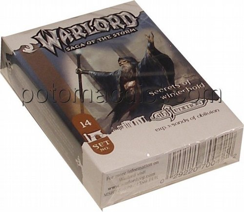 Warlord CCG: 4th Edition Exp. #3 Sands of Oblivion - Secrets of Winterhold Adventure Path Set (#14)