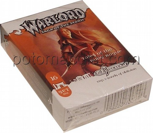 Warlord CCG: 4th Edition Exp. #3 Sands of Oblivion - Tales of the Ruby Rogue Advent. Path Set (#16)