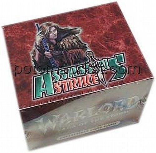 Warlord CCG: Assassins Strike Starter Deck Box