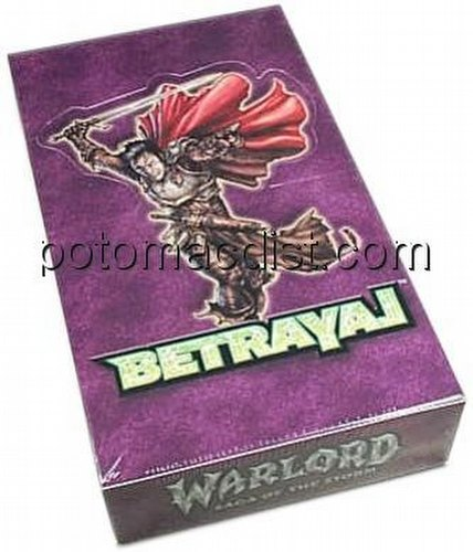 Warlord CCG: Betrayal Booster Box