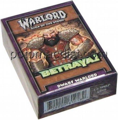 Warlord CCG: Betrayal Dwarf Starter Deck