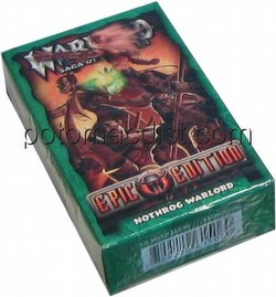Warlord CCG: Epic Edition Nothrog Starter Deck