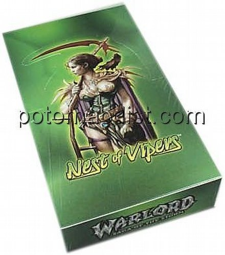 Warlord CCG: Nest of Vipers Booster Box