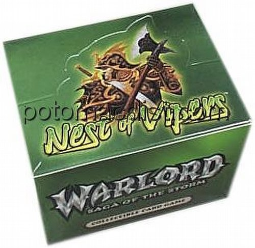 Warlord CCG: Nest of Vipers Starter Deck Box