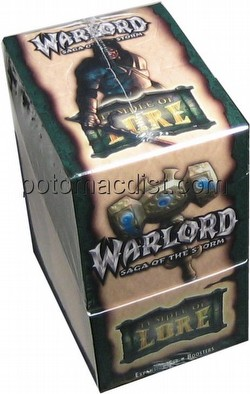 Warlord CCG: Temple of Lore Booster Box
