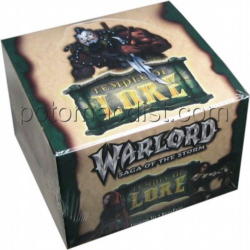 Warlord CCG: Temple of Lore Battle Packs Box
