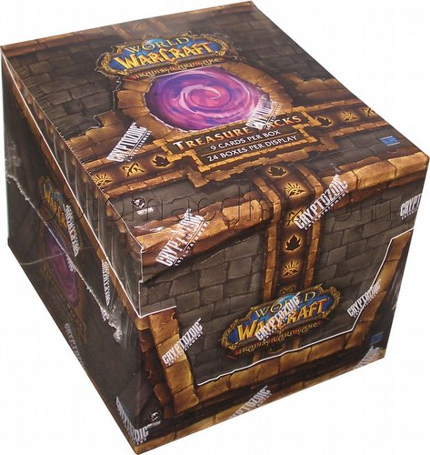 World of Warcraft Trading Card Game [TCG]: 2011 Treasure Pack Box