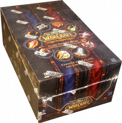 World of Warcraft Trading Card Game [TCG]: 2013 Spring Class Deck Starter Deck Box
