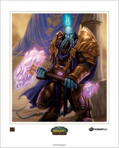 World of Warcraft Trading Card Game [TCG]: The Alliance Boxed Art Card Set