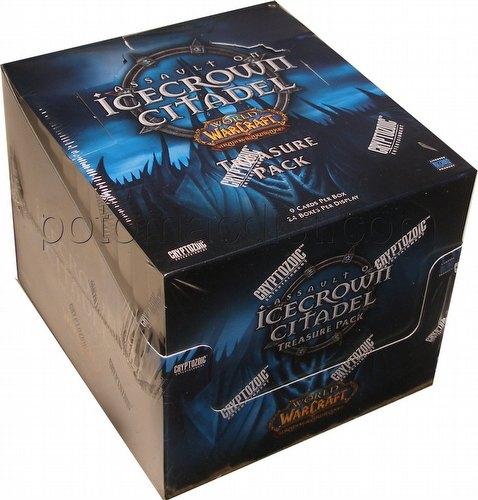 World of Warcraft TCG: Assault on Icecrown Citadel Treasure Pack Box