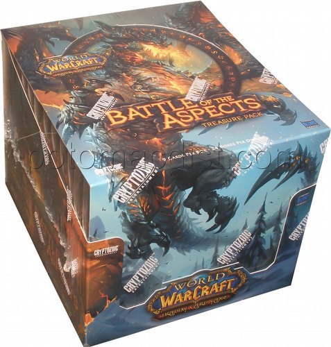 World of Warcraft Trading Card Game [TCG]: Battle of the Aspects Treasure Pack Box