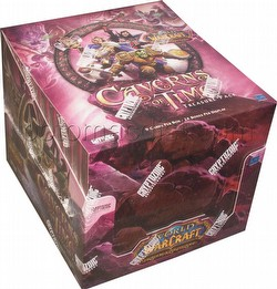 World of Warcraft TCG: The Caverns of Time Treasure Pack Box