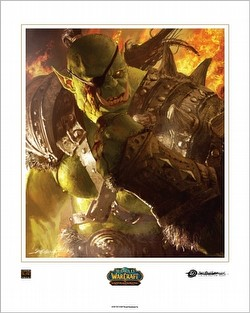 World of Warcraft Trading Card Game [TCG]: The Horde Boxed Art Card Set Case [6 sets]