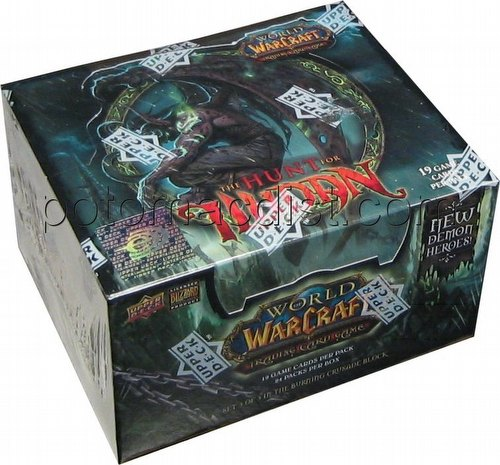 World of Warcraft Trading Card Game [TCG]: Hunt for Illidan Booster Box