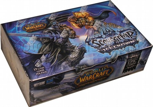 World of Warcraft Trading Card Game [TCG]: Scourgewar Icecrown Booster Box