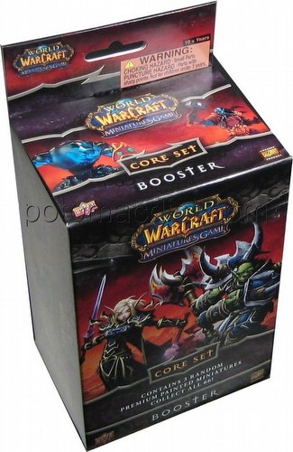 World of Warcraft Miniatures: Core Set Booster Pack