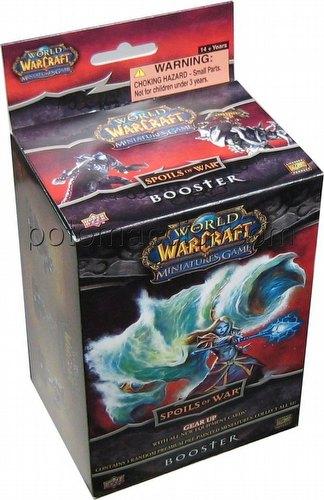 World of Warcraft Miniatures: Spoils of War Booster Pack