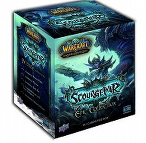 World of Warcraft Trading Card Game [TCG]: Scourgewar Epic Collection (Bundle) Box Case [12 boxes]