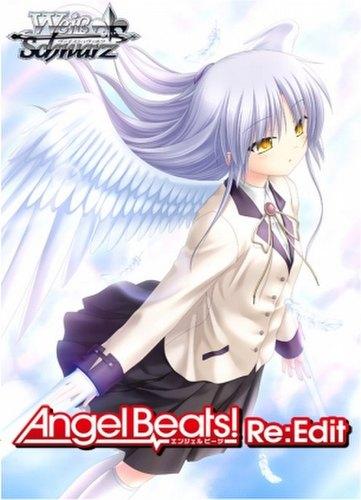 Weiss Schwarz (WeiB Schwarz): Angel Beats! Re:Edit Booster Box Case [English/16 boxes]