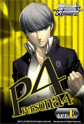Weiss Schwarz (WeiB Schwarz): Persona 4 Ver. E Booster Box Case [English/16 boxes]