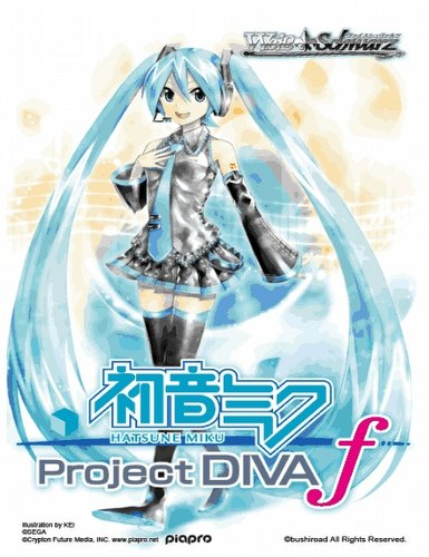 Weiss Schwarz (WeiB Schwarz): Hatsune Miku - Project DIVA-f Booster Box Case [English/16 boxes]