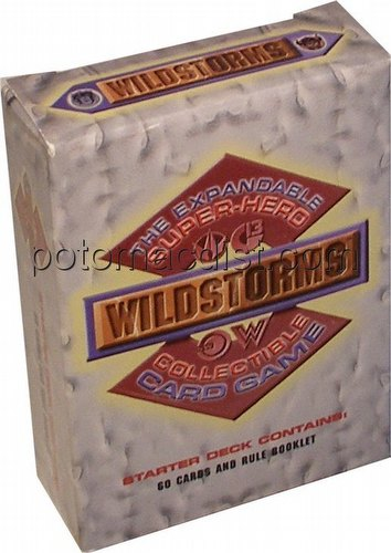 Wildstorms Collectible Card Game Starter Deck [Unlimited Edition]
