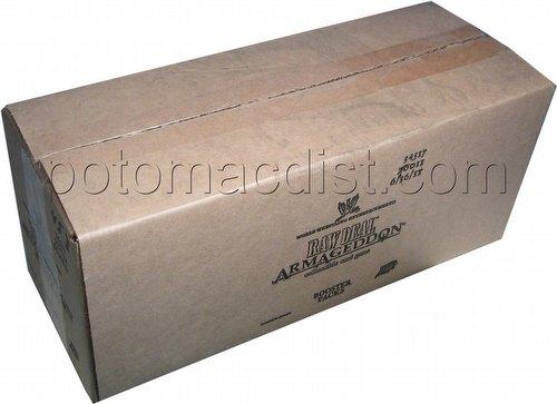 Raw Deal CCG: Armageddon Booster Box Case [6 boxes]