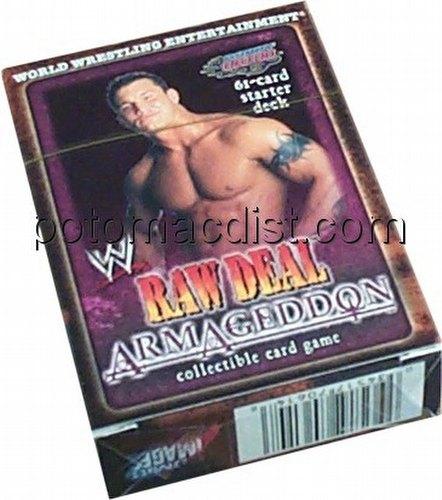 Raw Deal CCG: Armageddon Randy Orton Starter Deck