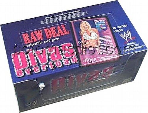 Raw Deal CCG: Divas Overload Starter Deck Box
