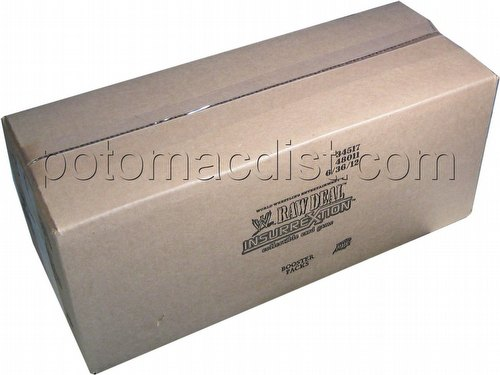 Raw Deal CCG: Insurrextion Booster Box Case [6 boxes]