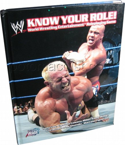 WWE Know Your Role RPG Hardcover Book