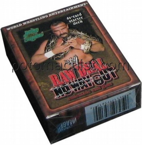 Raw Deal CCG: No Way Out Jake the Snake Starter Deck
