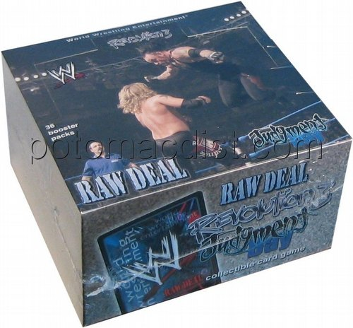 Raw Deal CCG: Revolution 3 Judgment Day Booster Box