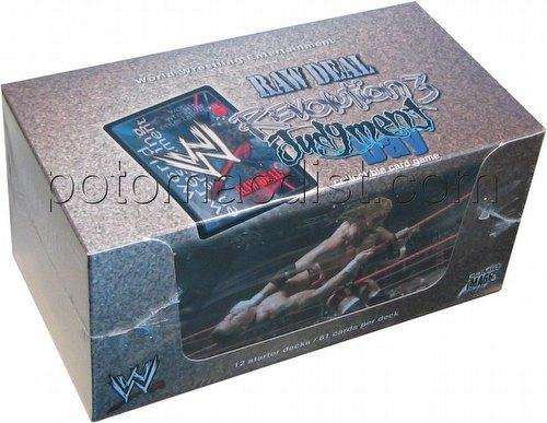 Raw Deal CCG: Revolution 3 Judgment Day Starter Deck Box
