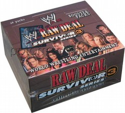 Raw Deal CCG: Survivor Series 3 Booster Box