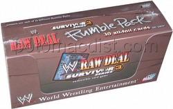 Raw Deal CCG: Survivor Series 3 Rumble Pack Box